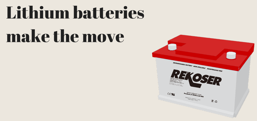 RKL LiFePO4. Rekoser Lithium batteries make the move