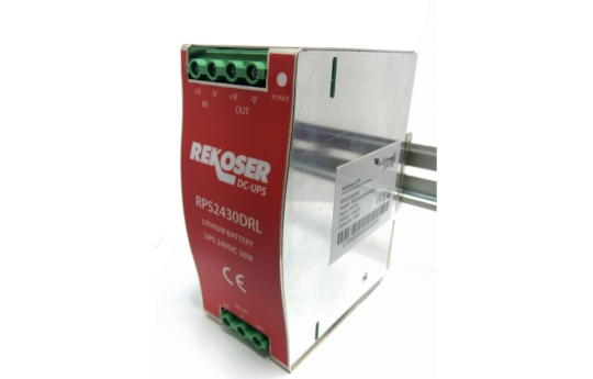 Lithium DC-DC UPS with DIN rail RPS-D